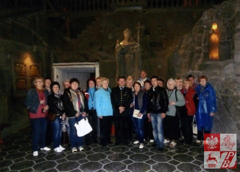 Pielgrzymi z Lidy na pielgrzymce  po Polsce śladami Jana Pawła II