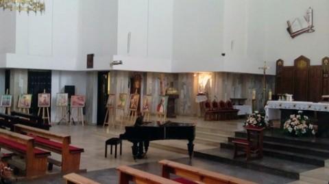 Wnętrze kościoła pw. Świętej Rodziny w Lublinie, fot.: Facebook.com