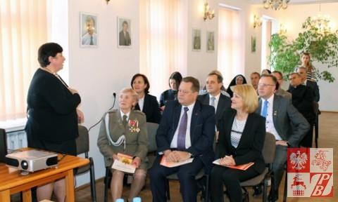 Barbara Kuklewicz opowiada o tym, jak były przyjmowane dzieci z Iwia w Polsce