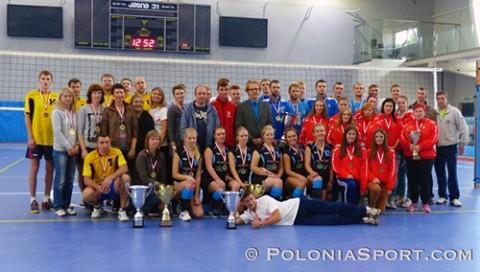 Zdjęcie pamiątkowe uczestników turnieju w Gliwicach, fot.