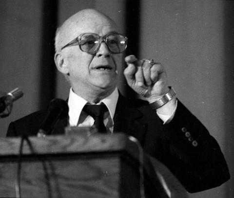 Jan Nowak-Jeziorański w 1998 roku, fot.: PAP