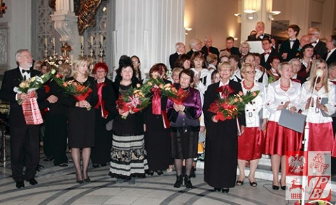 Minsk Final z kwiatami