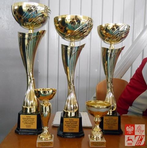 Trofea, o które walczyli piłkarze