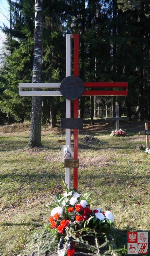 Krzyż Straży Mogił Polskich w Kuropatach