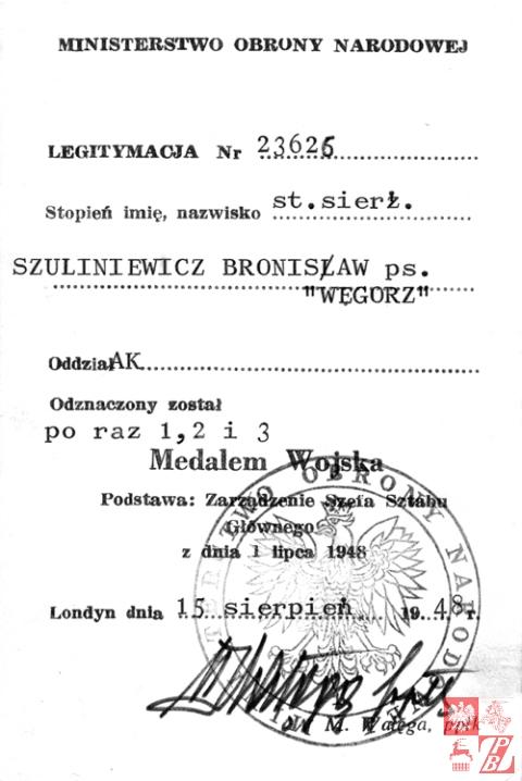 Bronislaw_Szuliniewicz_legitymacja