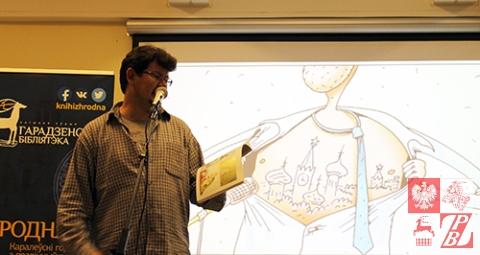 Andrej Chadanowicz czyta wierswze poety DoŁeza, którego podobno zna osobiście