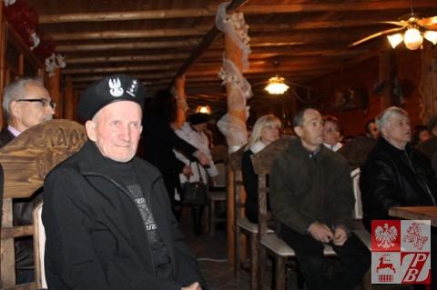 Por. Władysław Uchnalewicz na sali filmowej