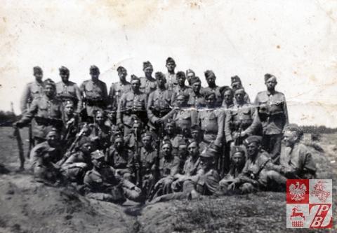 Żołnierze 76. Lidzkiego Pułku Piechoty