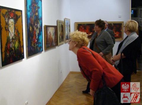 Podczas wystawy