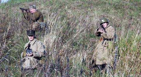 """Fot.: Sekcja Polskich Sił Zbrojnych na Wschodzie przy GWRH """"Towarzysze Broni"""""""