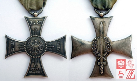 Krzyż na Śląskiej Wstędze Waleczności i zasługi