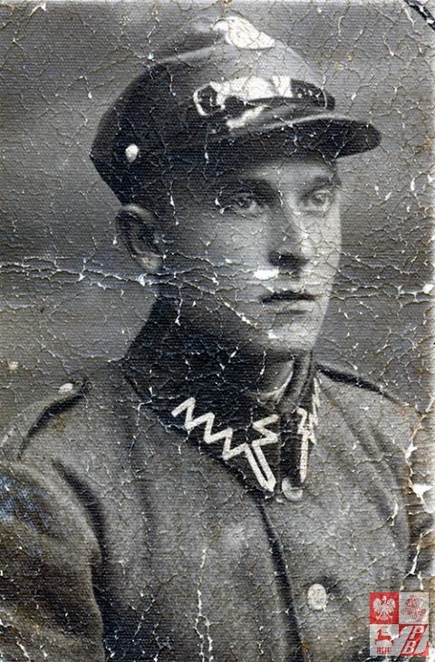 Wacław Trusiło, jako żołnierz 77. Pułku Piechoty