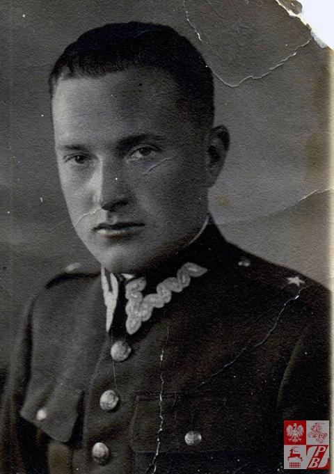 Władysław Ejsmont  w stopniu podporucznika