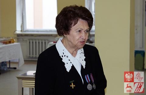 Przemawia Halina Jakołcewicz