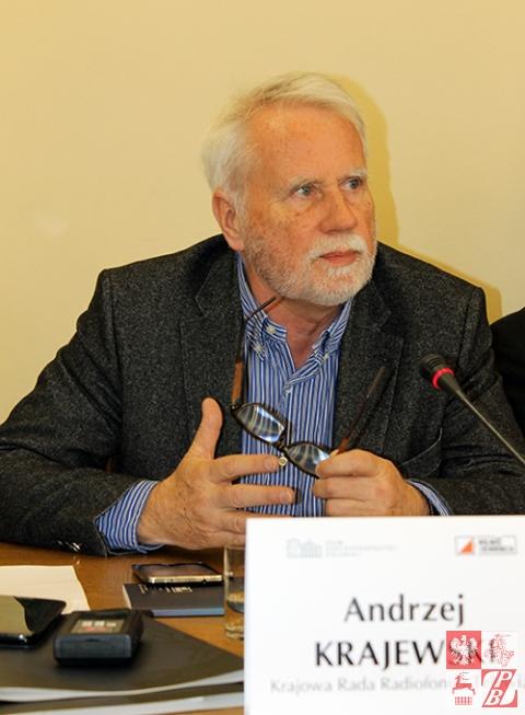 Przemawia Andrzej Krajewski