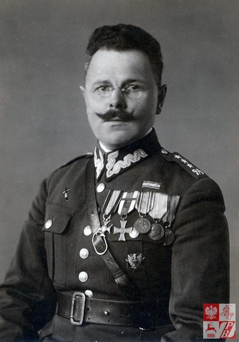 Karol Tomkowicz - zdjęcie z początku lat 30. ubiegłego stulecia