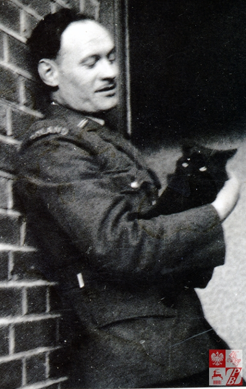Władysław Więcko jako mechanik samolotowy w RAF Wielkiej Brytanii