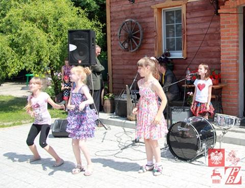 Występ najmłodszych artystów z Żołudka