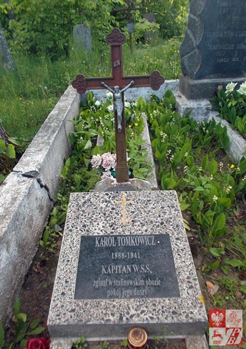 Symboliczny grób Karola Tomkowicza