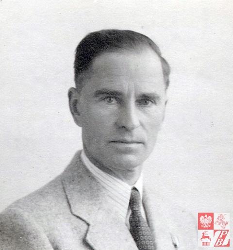 1948 r., Szkocja. Mjr Narcyz Łopianowski po demobilizacji