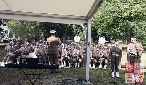 Gra Orkiestra Reprezentacyjna Straży Granicznej
