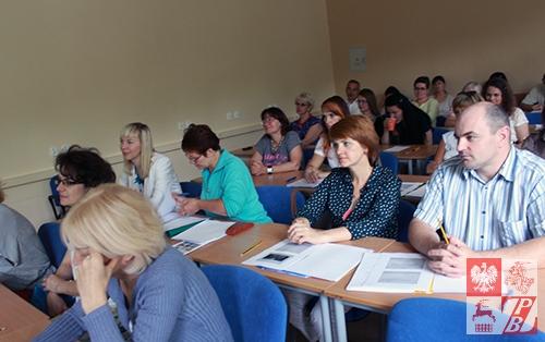 Nauczyciele z Białorusi podczas zajęć