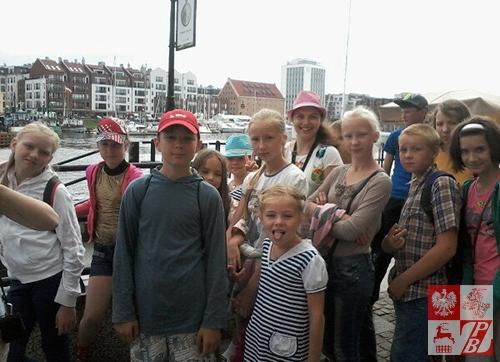 Podczas zwiedzania Gdańska
