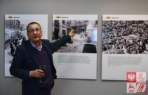 Jerzy Majewski opowiada o prezentowanych na wystawie zdjęciach