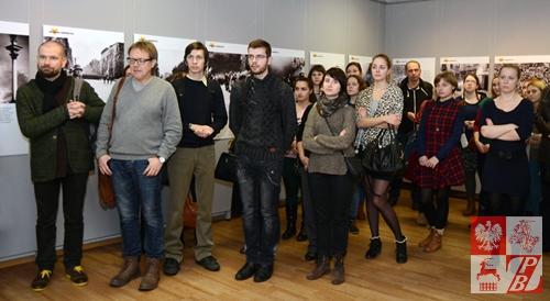 Wernisaż cieszył się dużym zainteresowaniem mieszkańców białoruskiej stolicy