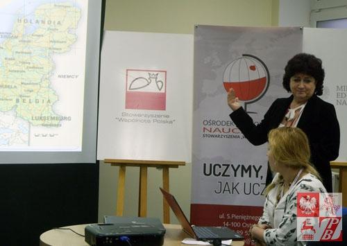 LOM w krajach Beneluksu prezentują Gabriela Drwal i Ewa Wasińska-Stok