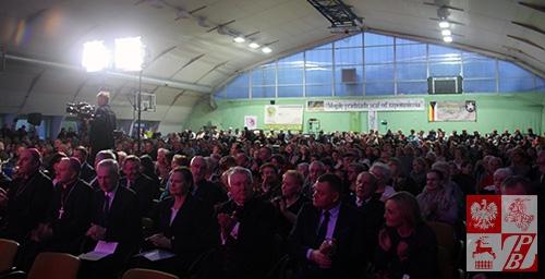 Publiczność tłumnie przybywała na spotkania z kresowianami