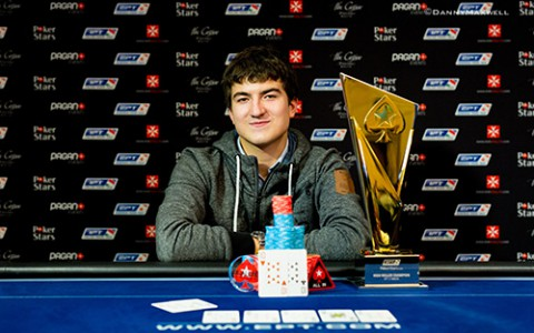 Dzmitry Urbanovich - EPT Malta 2015 - €25,000 High Roller Winner