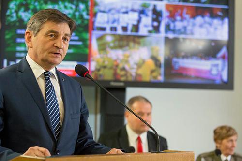 Marszałek Sejmu RP Marek Kuchciński, fot.: Paweł Kula/sejm.gov.pl