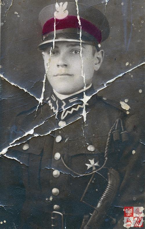 Bronisław Łukaszyk w 1932, jako szwoleżer 1. Pułku Szwoleżerów Józefa Piłsudskiego