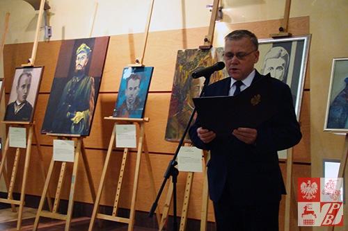 Przemawia wicewojewoda Jan Zabielski