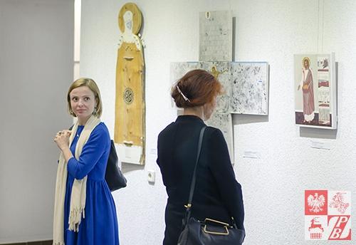 Podczas zwiedzania wystawy