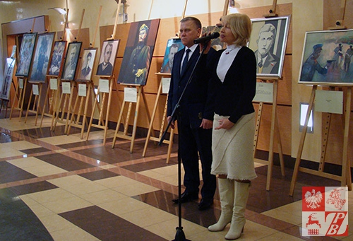Przemawia Janina Pilnik
