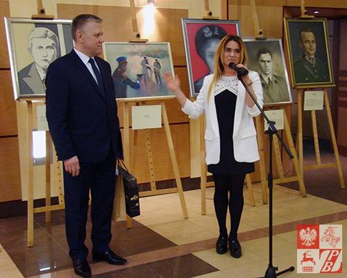 Przemawia Weronika Szarejko