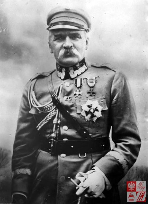 Józef Piłsudski, fot.: Be&W