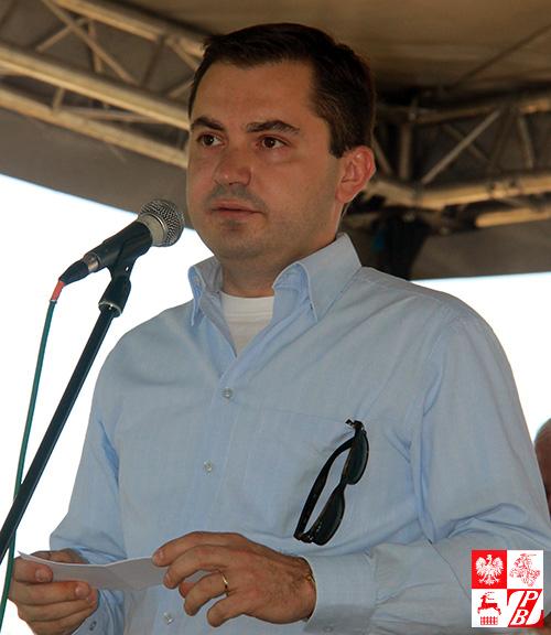 Ambasador RP na Białorusi Konrad Pawlik