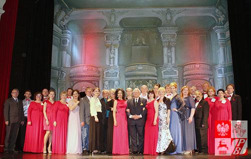 Uczestnicy i organizatorzy trasy koncertowej