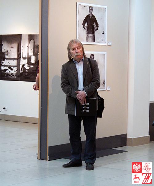 Ryhor Sitnica, przewodniczący Białoruskiego Związku Malarzy