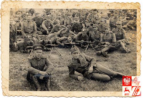Żołnierze 1. Brygady Piechoty Zmotoryzowanej, w której szeregach walczył Sidor Bałanowicz