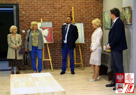 Przemawia burmistrz Supraśla Radosław Dobrowolski