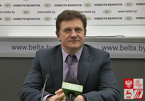 Minister Edukacji Republiki Białoruś Michaił Żurawkow, fot.: .youtube.com