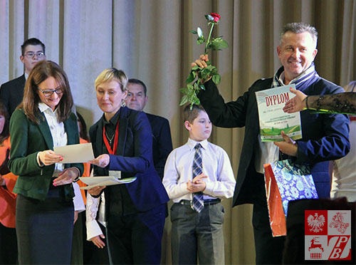 Aleksander Szugajew z Dyplomem uczestnictwa w Festiwalu