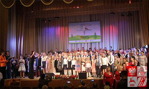 Wspólne zdjęcie uczestników festiwalu